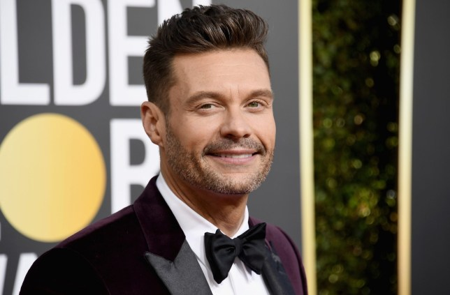 BEVERLY HILLS, CA - JANUARY 06: 76th ANNUAL GOLDEN GLOBE AWARDS -- Pictured: Ryan Seacrest arrives to the 76th Annual Golden Globe Awards held at the Beverly Hilton Hotel on January 6, 2019. -- (Photo by Kevork Djansezian/NBC/NBCU Photo Bank)