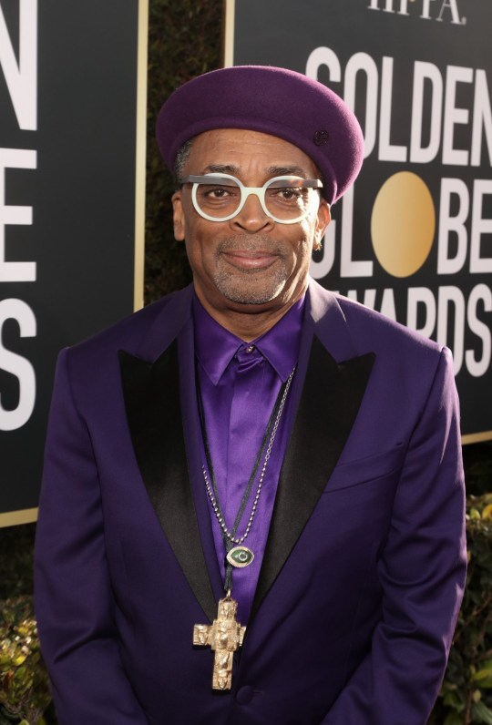 BEVERLY HILLS, CA - JANUARY 06: 76th ANNUAL GOLDEN GLOBE AWARDS -- Pictured: Spike Lee arrives to the 76th Annual Golden Globe Awards held at the Beverly Hilton Hotel on January 6, 2019. -- (Photo by Todd Williamson/NBC/NBCU Photo Bank)