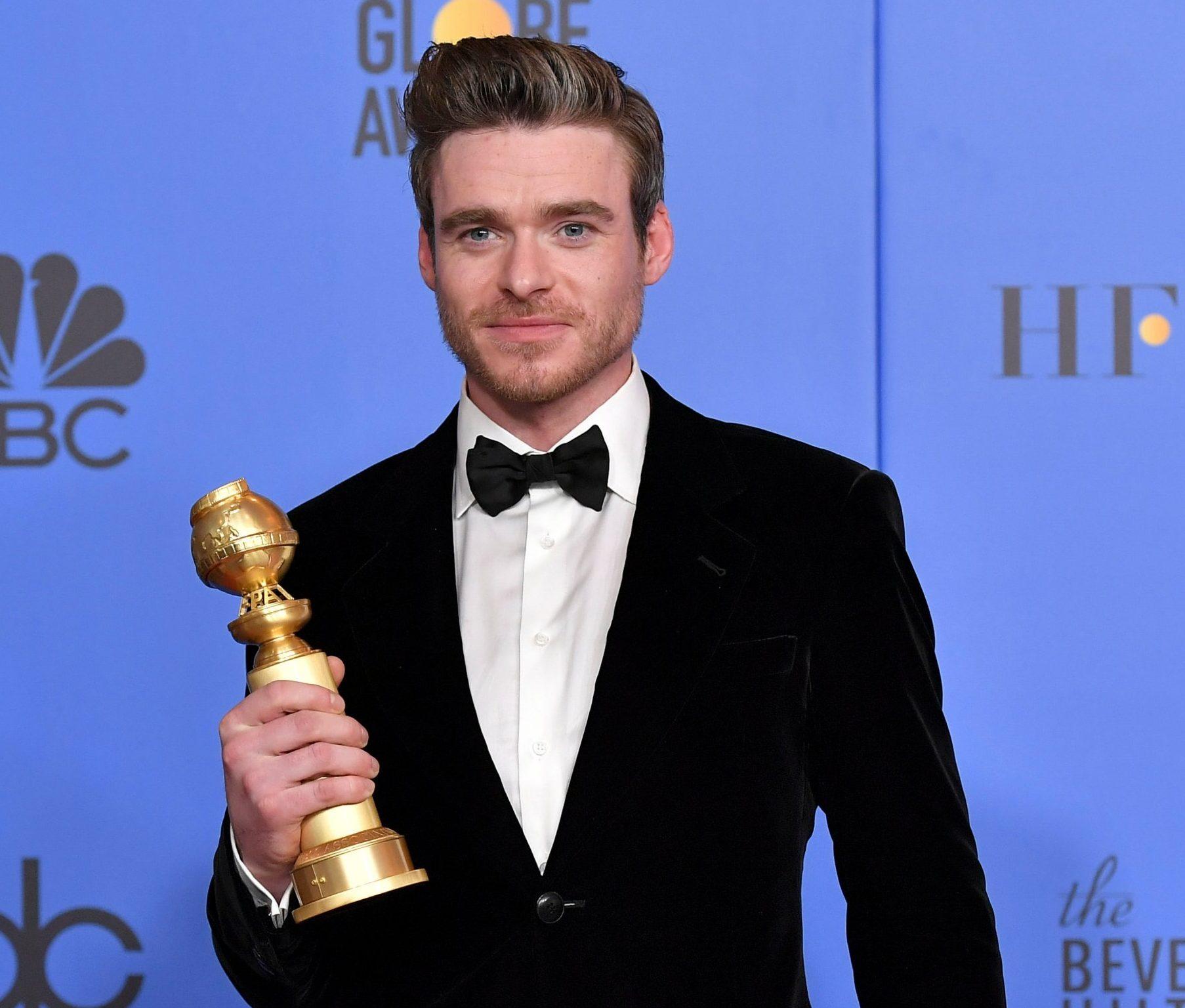Bodyguard's Richard Madden channels James Bond at Golden Globes amid 007 'rumours'