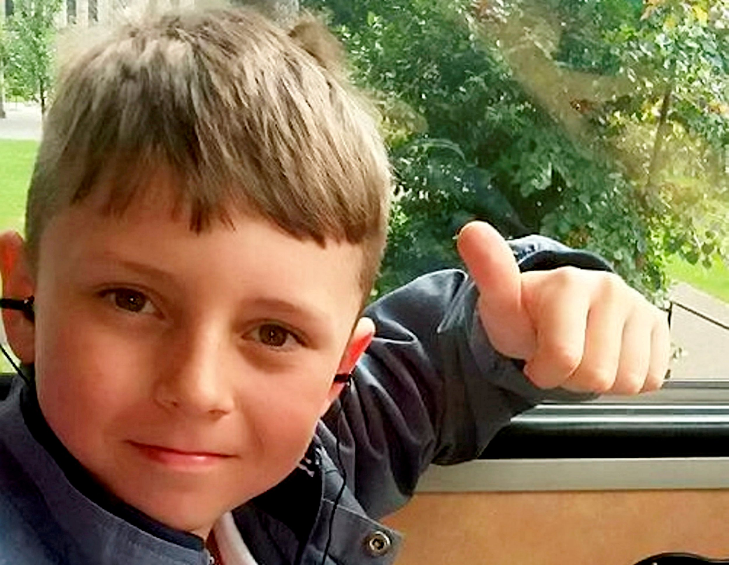 Collect pic of Luke Glendenning, who died aged 10 after a routine operation to remove kidney stones in Leeds, West Yorks. See SWNS story SWLEinquest; Inquest into the death of ten-year-old boy who died just 72 hours after a routine operation to remove his kidney stones went tragically wrong.