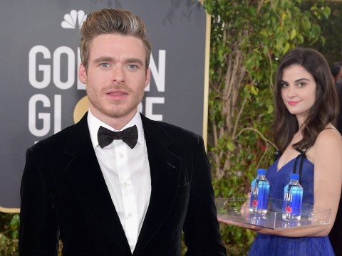 Fiji Water Girl thanks Richard Madden for helping her become first meme of 2019
