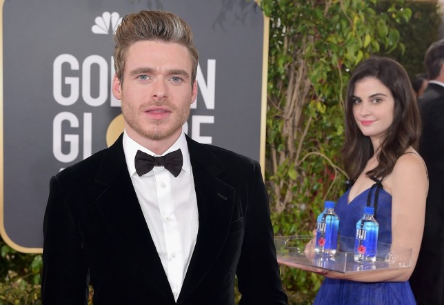 LOS ANGELES, CA - JANUARY 06: Richard Madden attends FIJI Water at the 76th Annual Golden Globe Awards on January 6, 2019 at the Beverly Hilton in Los Angeles, California. (Photo by Stefanie Keenan/Getty Images for FIJI Water)
