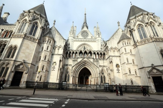 Sally Roberts appeared at the High Court in Central London.