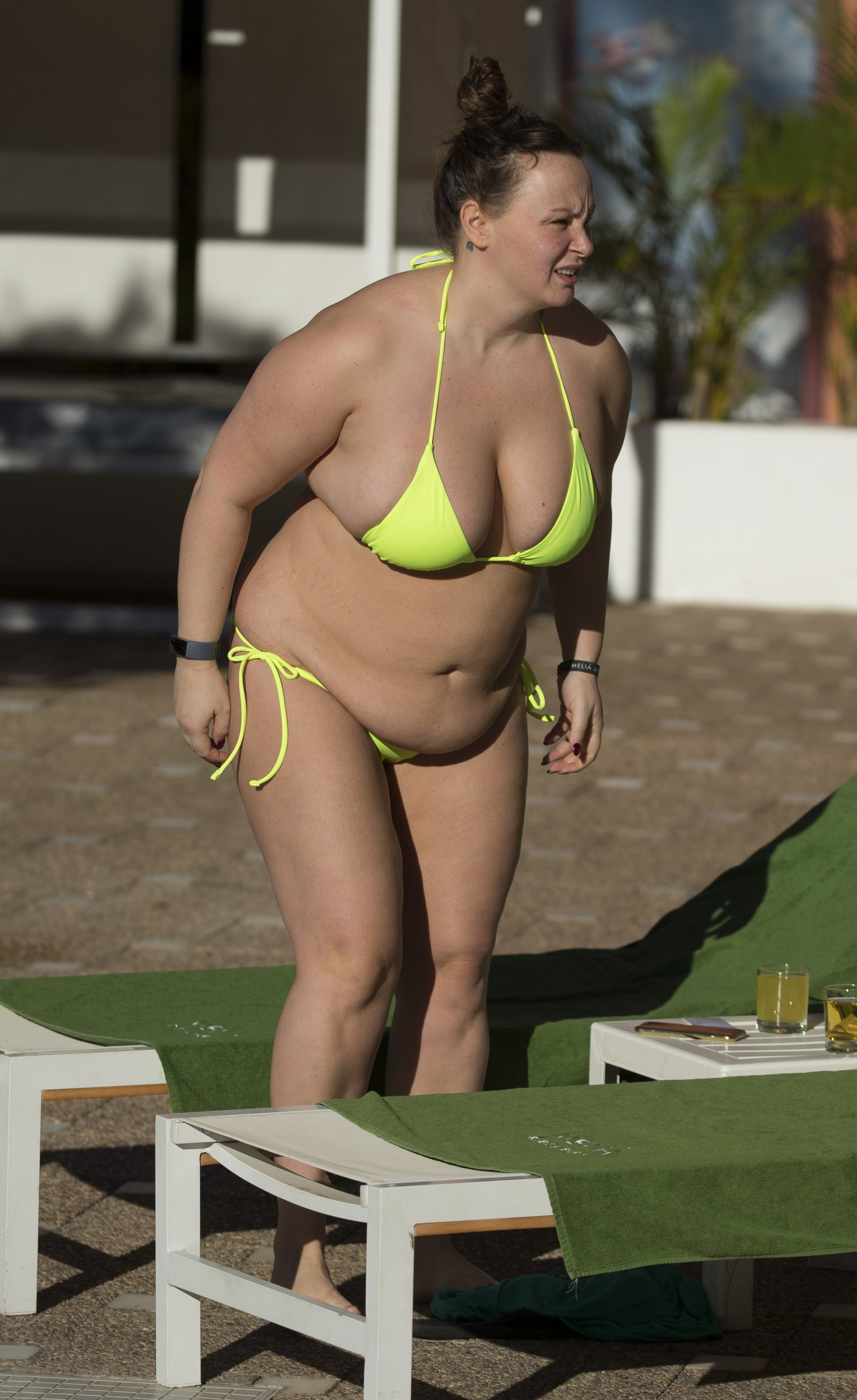 EXCLUSIVE: * No Web Till 12.30PM 8th Jan 2019 * * Online Set Fee After Embargo 300 GBP * * UK Mags Min Set Fee 750 GBP - 1000 GBP If Used on Cover * * UK Papers 250 GBP Per Pic * Chanelle Hayes Laps Up The Sun Whilst on Holiday In Spain. Pictured: Chanelle Hayes Ref: SPL5044247 241118 EXCLUSIVE Picture by: SplashNews.com * Online Set Fee After Embargo 300 GBP * * UK Mags Min Set Fee 750 GBP - 1000 GBP If Used on Cover * * UK Papers 250 GBP Per Pic * Splash News and Pictures Los Angeles: 310-821-2666 New York: 212-619-2666 London: 0207 644 7656 Milan: 02 4399 8577 photodesk@splashnews.com World Rights