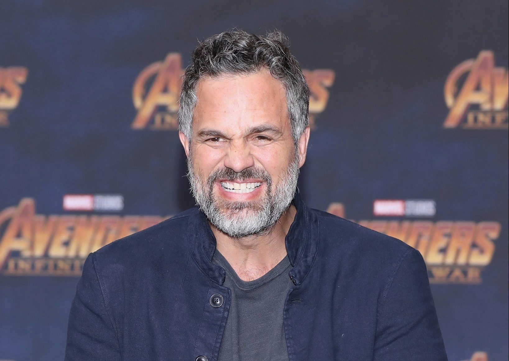 """MEXICO CITY, MEXICO - APRIL 05: Actor Mark Ruffalo attends a press conference to promote the film """"Avengers: Infinity War"""" at Four Seasons Hotel on April 5, 2018 in Mexico City, Mexico. (Photo by Victor Chavez/Getty Images)"""