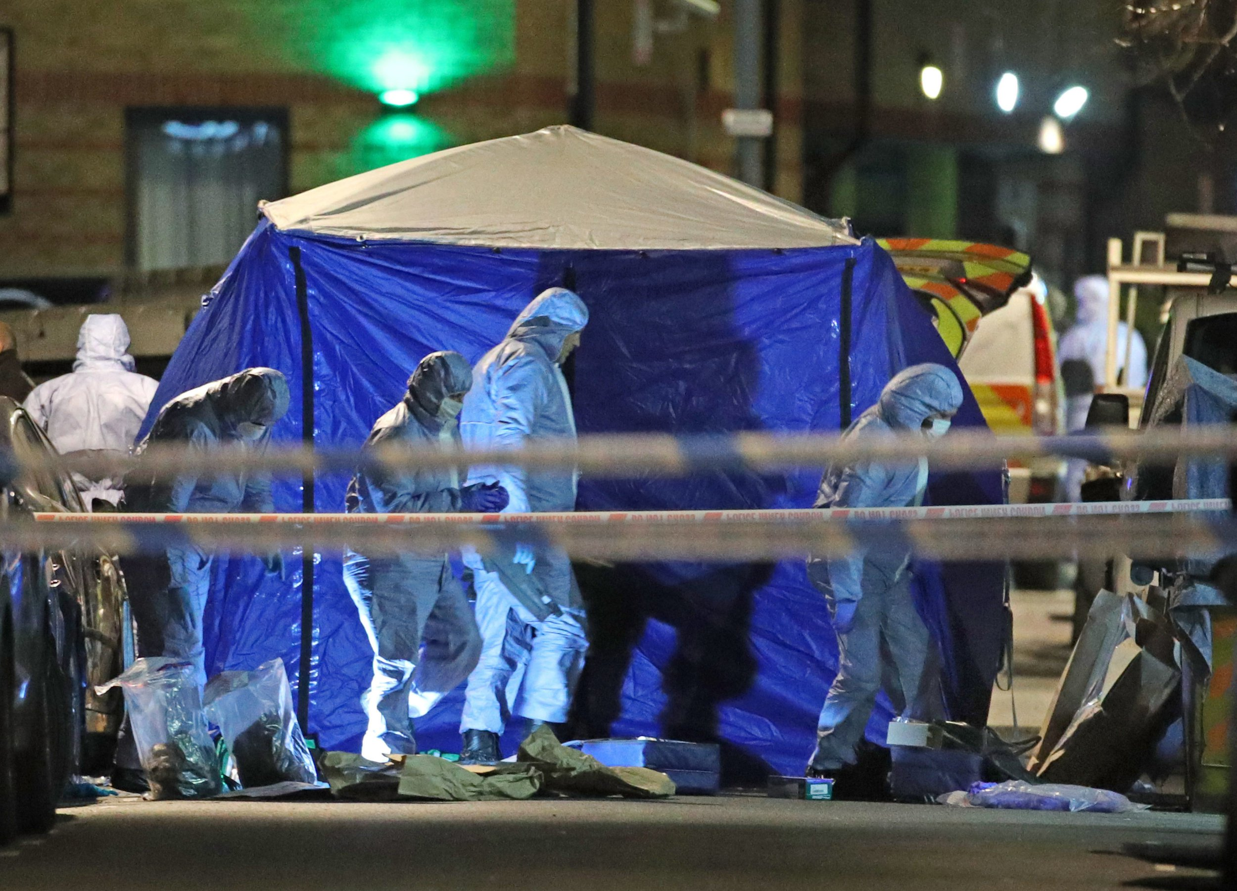 Boy, 14, stabbed to death as London endures more bloodshed