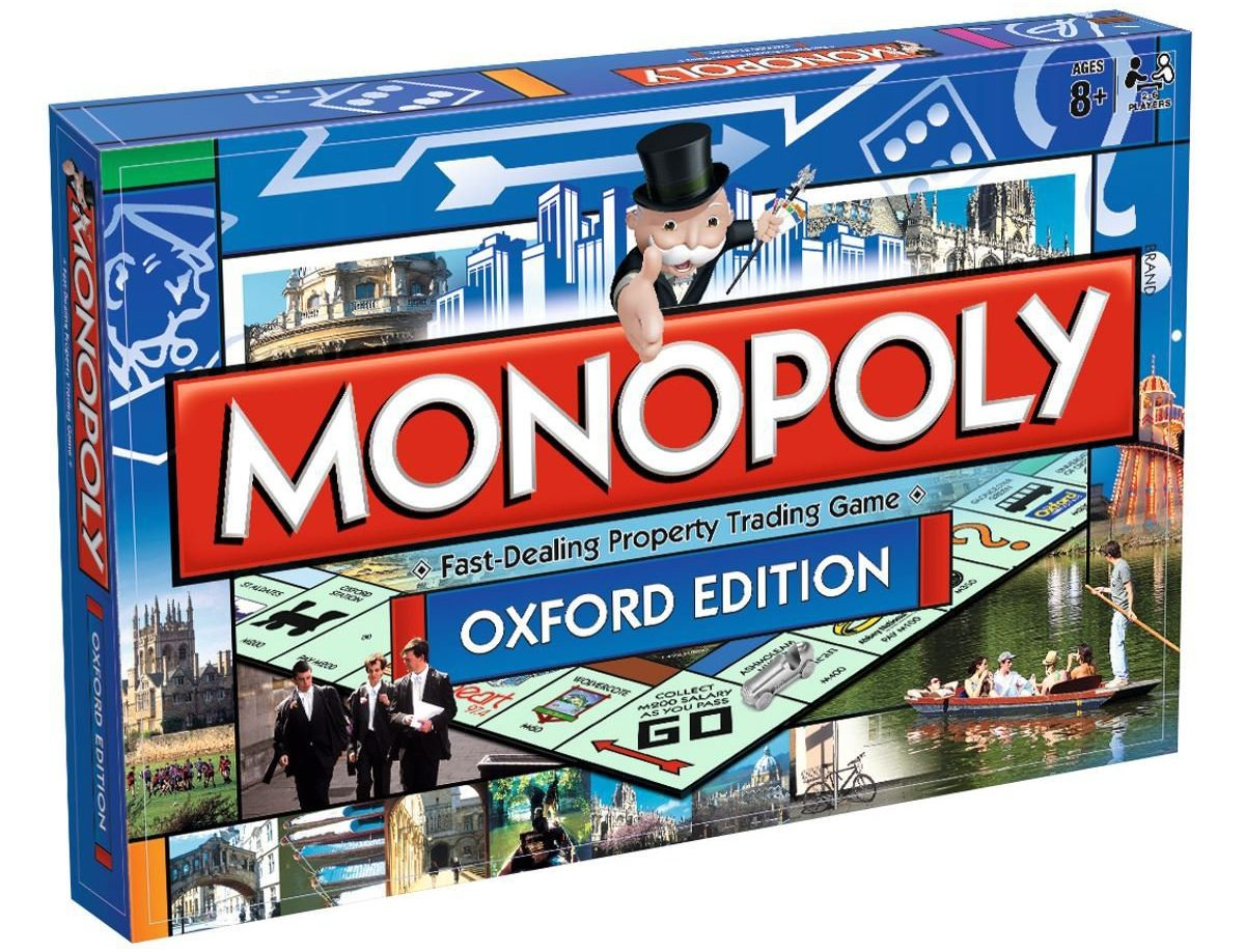 - Picture of the Oxford Monopoly board on sale at winningmoves.co.uk TRIANGLE NEWS 0203 176 5581 // contact@trianglenews.co.uk A UNIVERSITY chaplain has complained to the makers of Monopoly because she claims an Oxford-themed edition of the board game is SEXIST. Tracey Allen, who works as chaplaincy co-ordinator at the University of Suffolk, says the Oxford edition of the game only shows men graduating on the front while women enjoy boating in skimpy tops. Ms Allen bought the game for Christmas but admitted she was disappointed by its cover design. The board game features men in caps and gowns in high spirits as they walk through Oxford?s streets - but the only women featured are ?wearing bikinis? and being pushed along in a boat by a man. *Full news copy filed via the wires*