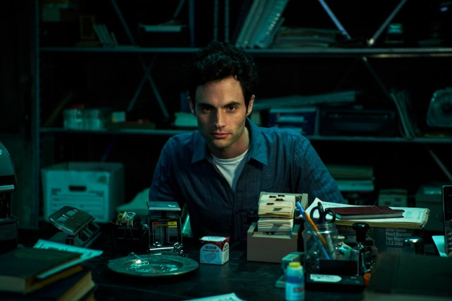 Penn Badgley in YOU (Picture: Netflix)