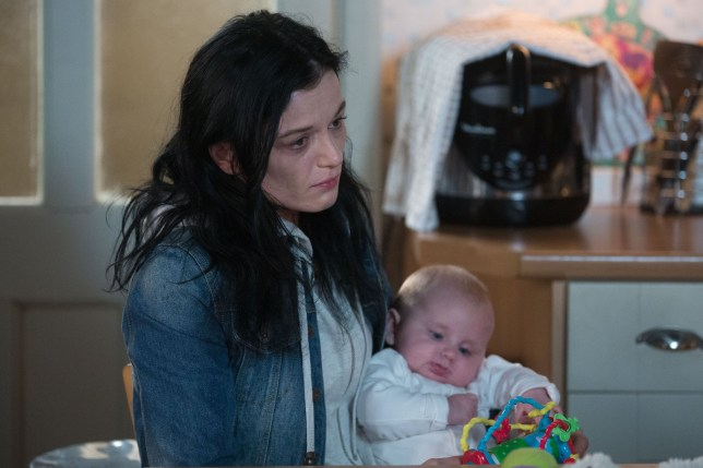 WARNING: Embargoed for publication until 00:00:01 on 19/01/2019 - Programme Name: EastEnders - January - March 2019 - TX: 21/01/2019 - Episode: EastEnders - January - March - 2019 - 5854 (No. n/a) - Picture Shows: *STRICTLY NOT FOR PUBLICATION UNTIL 00:01HRS SATURDAY 19th JANUARY 2019* Kat tries to persuade Hayley she needs help. Hayley Slater (KATIE JARVIS), Cherry Slater - (C) BBC - Photographer: Jack Barnes