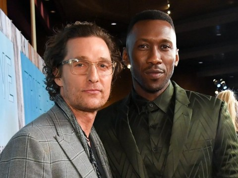 Matthew McConaughey supports Mahershala Ali at True Detective season 3 premiere