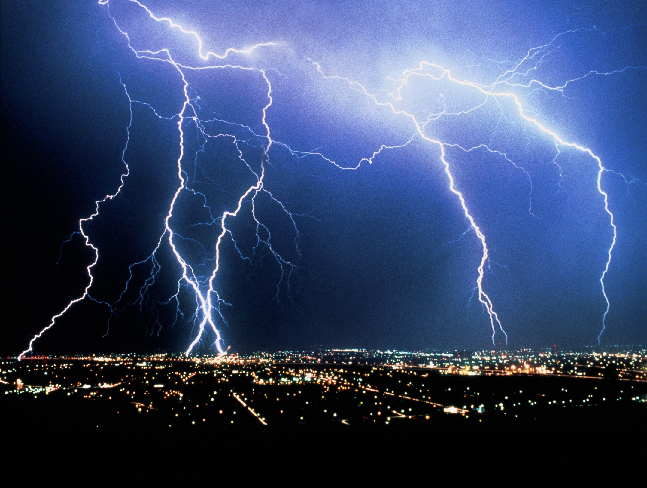 Physicists deliberately triggered electrical storms with laser beams because science getty