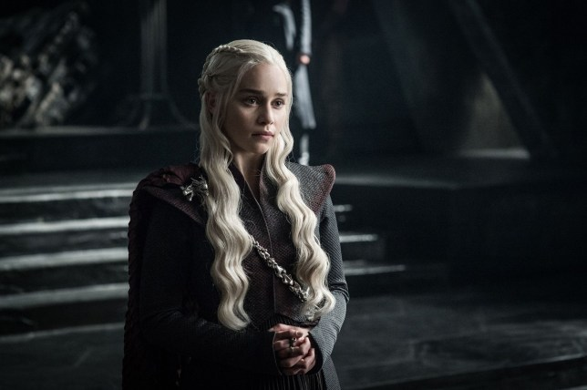 """Editorial use only. No book cover usage. Mandatory Credit: Photo by Hbo/Kobal/REX/Shutterstock (9036271ea) Emilia Clarke """"Game Of Thrones"""" (Season 7) TV Series - 2017"""