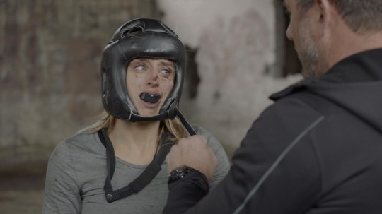 Boxing; Louise and Foxy SAS: Who Dares Wins Credit Channel 4