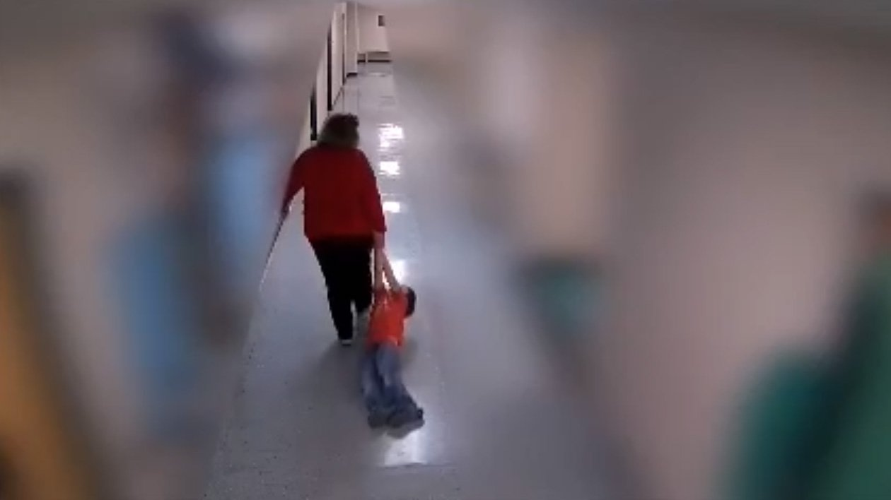 Teacher fired after video shows she dragged student with autism across the floor