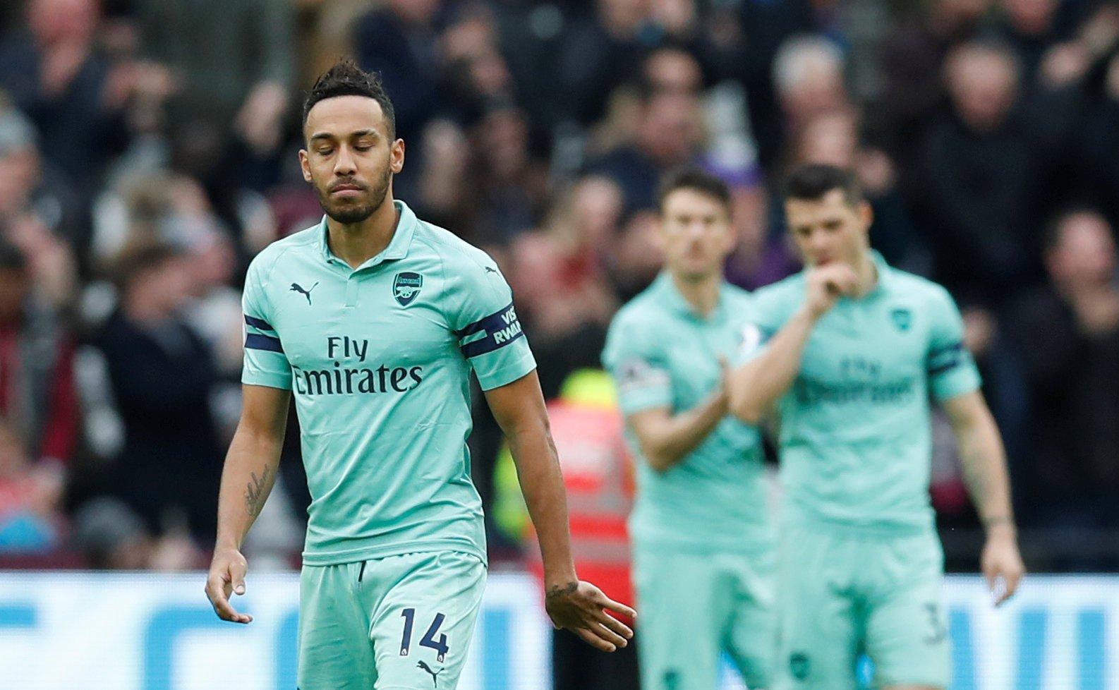 Arsenal fans hammer Granit Xhaka for schoolboy error against West Ham