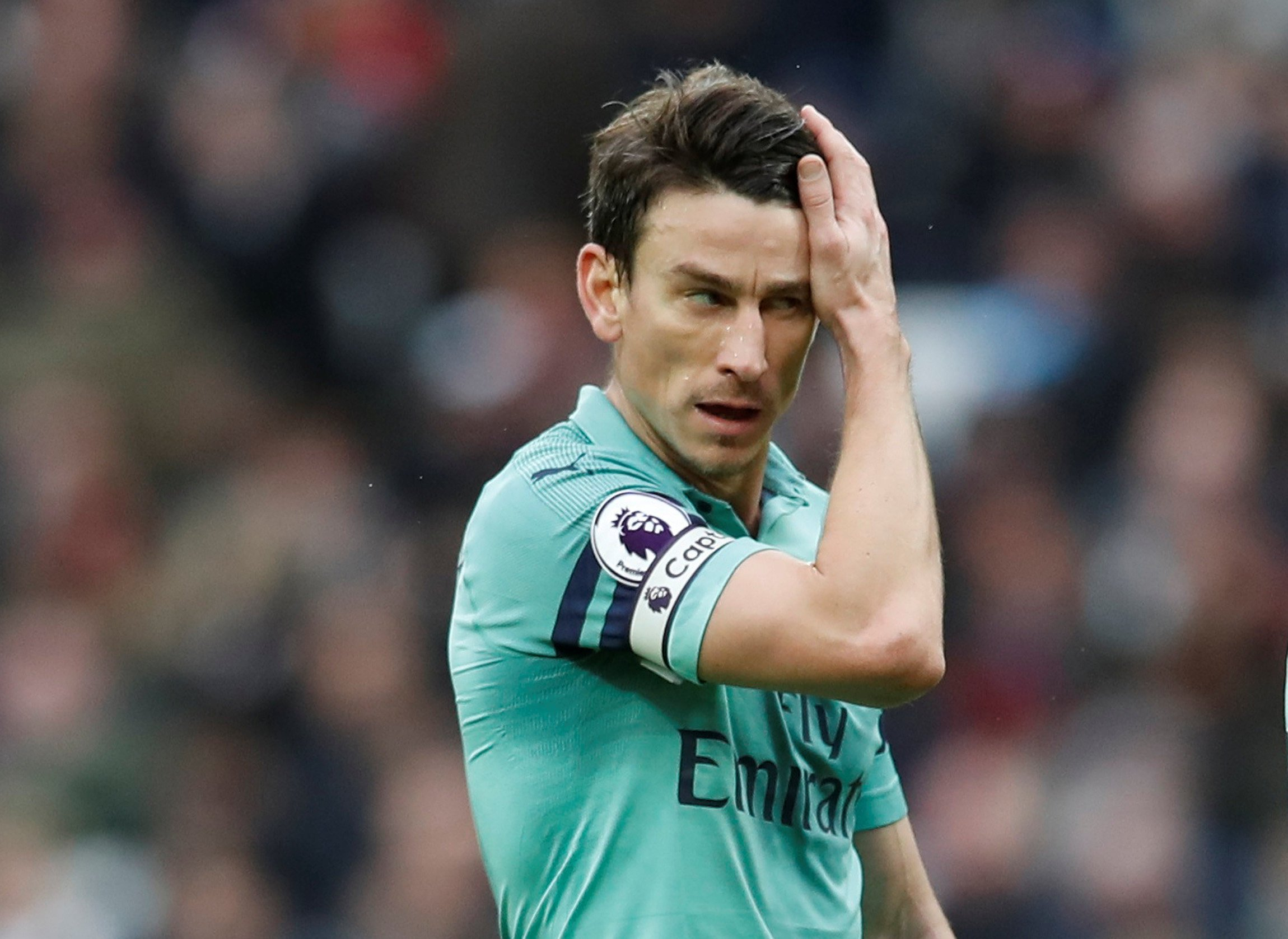 Laurent Koscielny blames Arsenal's forwards for West Ham defeat