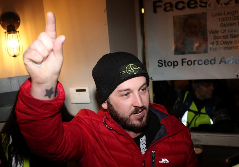 James Goddard leaves a police station in central London, Britain January 12, 2019. REUTERS/Simon Dawson