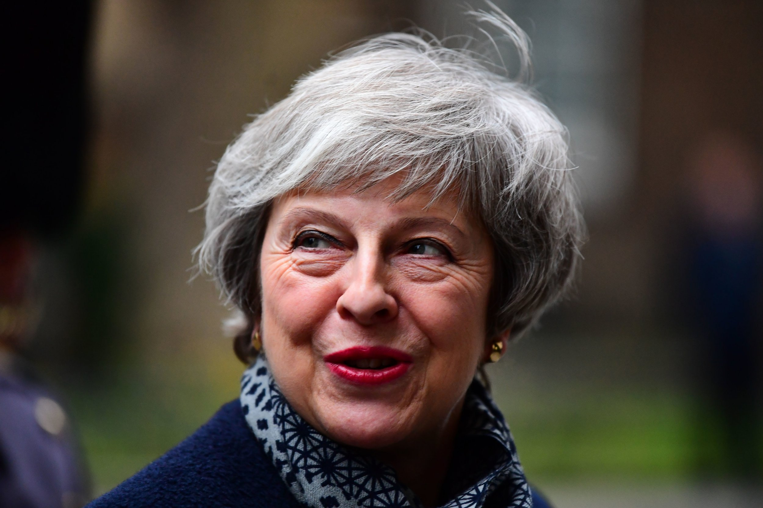 "File photo dated 10/1/2019 of Theresa May who has warned of a ""catastrophic and unforgivable breach of trust"" in democracy if MPs reject her Brexit deal and the UK remains in the European Union. PRESS ASSOCIATION Photo. Issue date: Sunday January 13, 2019. With just two days to go before the Commons vote on her withdrawal agreement, the Prime Minister pleaded with parliamentarians to ""do what is right for our country"" and back her controversial exit plan. See PA story POLITICS Brexit. Photo credit should read: Victoria Jones/PA Wire"