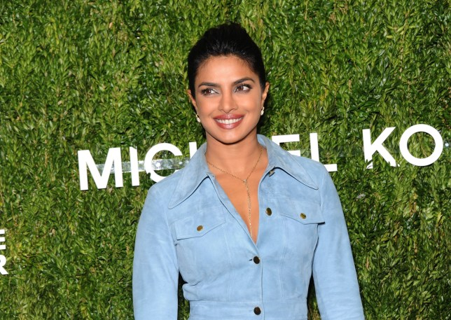 NEW YORK, NY - OCTOBER 16: Priyanka Chopra attends God's Love We Deliver 12th Annual Golden Heart Awards at Spring Studios on October 16, 2018 in New York City. (Photo by Desiree Navarro/Getty Images)