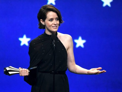 Critics' Choice Awards: Claire Foy keeps her awards in the toilet
