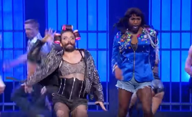 Queer Eye's Jonathan and Karamo performing Telephone is EVERYTHING