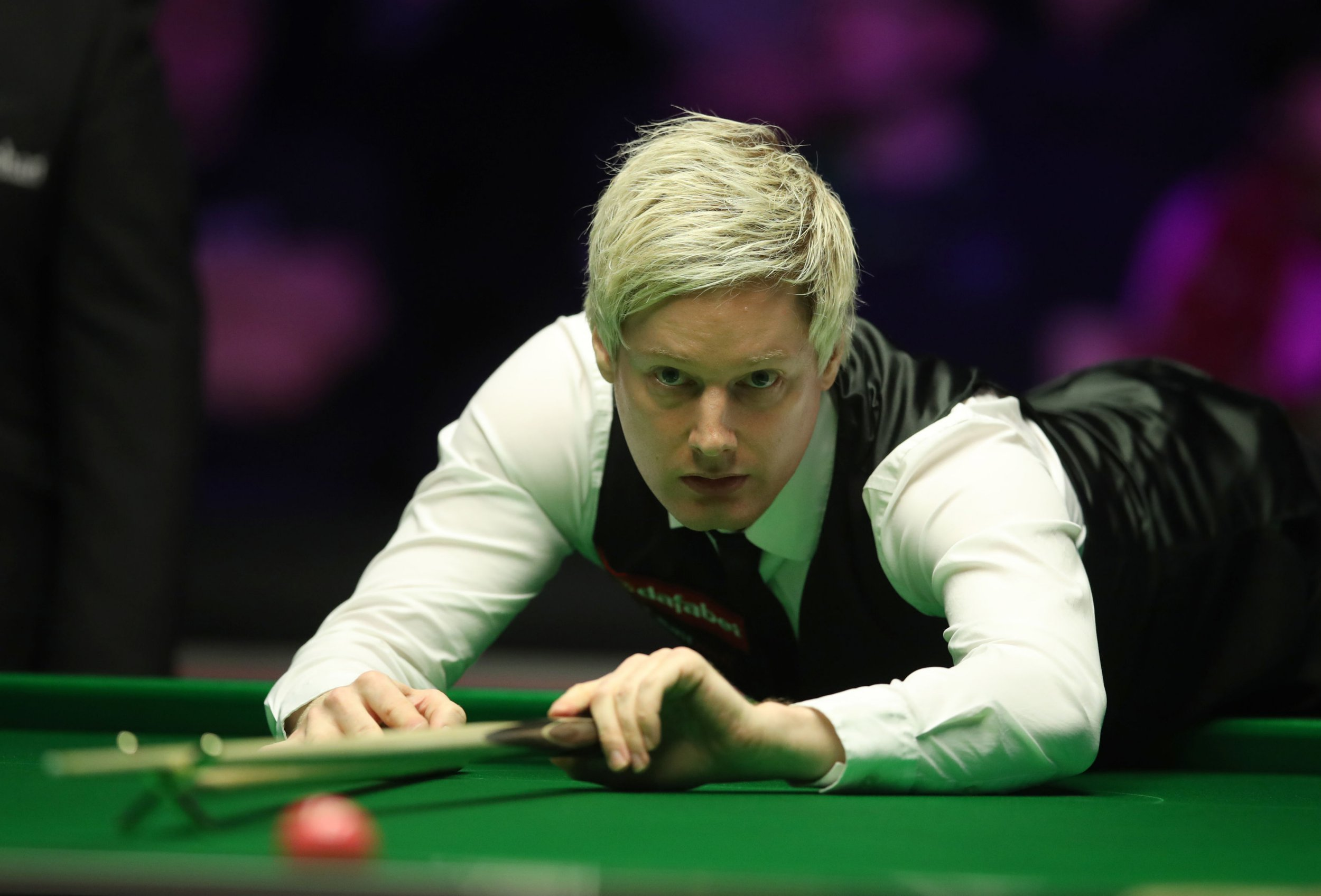 Neil Robertson during day three of the 2019 Dafabet Masters at Alexandra Palace, London. PRESS ASSOCIATION Photo. Picture date: Tuesday January 15, 2019. See PA story SNOOKER London. Photo credit should read: Adam Davy/PA Wire