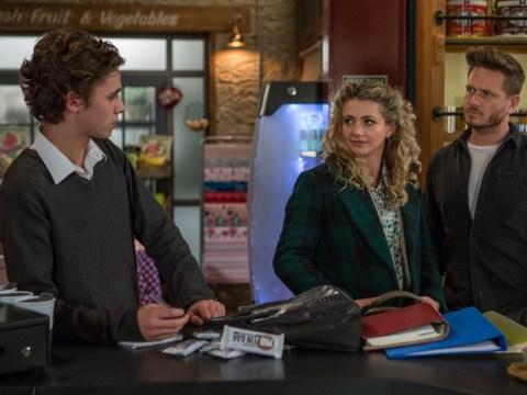 Emmerdale spoilers: Jacob Gallagher tries to split David Metcalfe and Maya Stepney