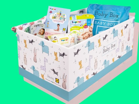 Lidl is giving away free baby boxes to new parents