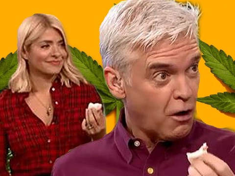 Holly Willoughby and Phillip Schofield caught out as they devour cannabis on This Morning: 'You said it would have no effect!'