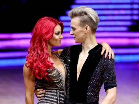 Joe Sugg fans ready with the shade as he takes another tumble while Dianne Buswell gushes about her 'Romeo'