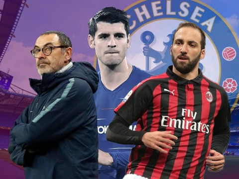 How Gonzalo Higuain will fit in under Maurizio Sarri at Chelsea
