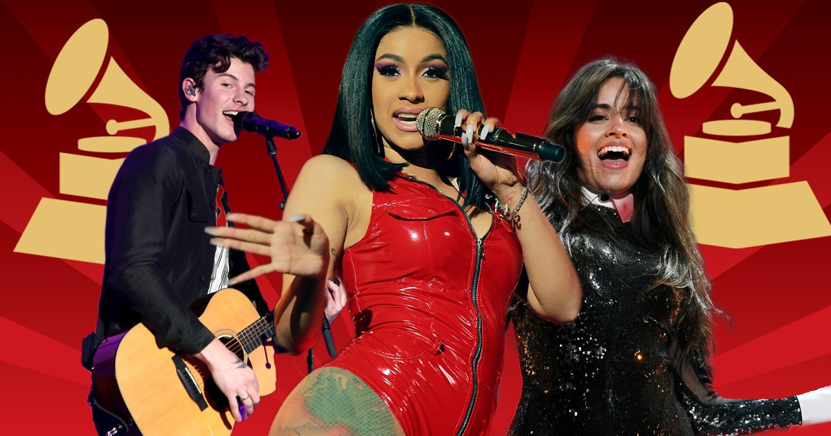 Grammy Awards 2019: Cardi B, Camila Cabello, Janelle Monae and Shawn Mendes set to storm stage