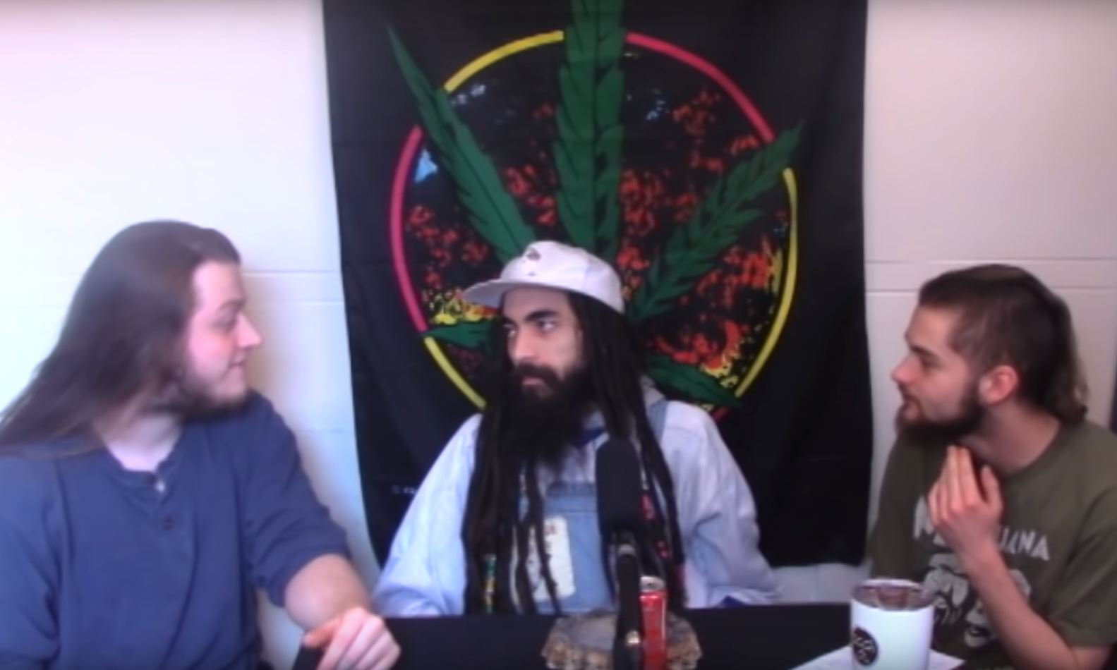 Picture: YouTube/ T'es-Tu High White comedian refused show because his dreadlocks are' cultural appropriation'