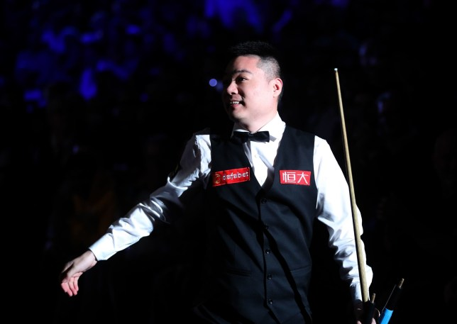 Ding Junhui during day five of the 2019 Dafabet Masters at Alexandra Palace, London. PRESS ASSOCIATION Photo. Picture date: Thursday January 17, 2019. See PA story SNOOKER London. Photo credit should read: Adam Davy/PA Wire