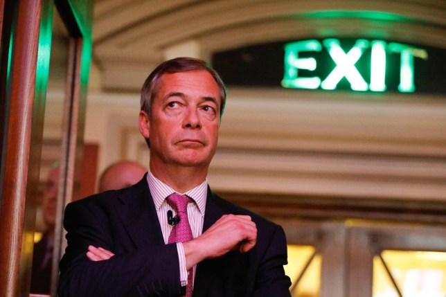 MEP and former UKIP leader Nigel Farage