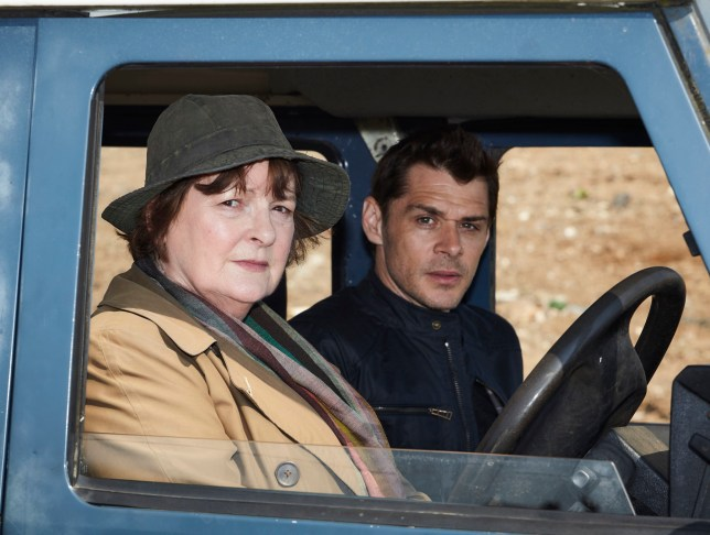 From ITV Studios VERA SR9 Episode 1 Pictured: BRENDA BLETHYN as DCI Vera Stanhope and KENNY DOUGHTY as DS Aiden Healy. This photograph is (C) ITV Plc and can only be reproduced for editorial purposes directly in connection with the programme or event mentioned above. Once made available by ITV plc Picture Desk, this photograph can be reproduced once only up until the transmission [TX] date and no reproduction fee will be charged. Any subsequent usage may incur a fee. This photograph must not be manipulated [excluding basic cropping] in a manner which alters the visual appearance of the person photographed deemed detrimental or inappropriate by ITV plc Picture Desk. This photograph must not be syndicated to any other company, publication or website, or permanently archived, without the express written permission of ITV Plc Picture Desk. Full Terms and conditions are available on the website www.itv.com/presscentre/itvpictures For further information please contact: Patrick.smith@itv.com 0207 1573044