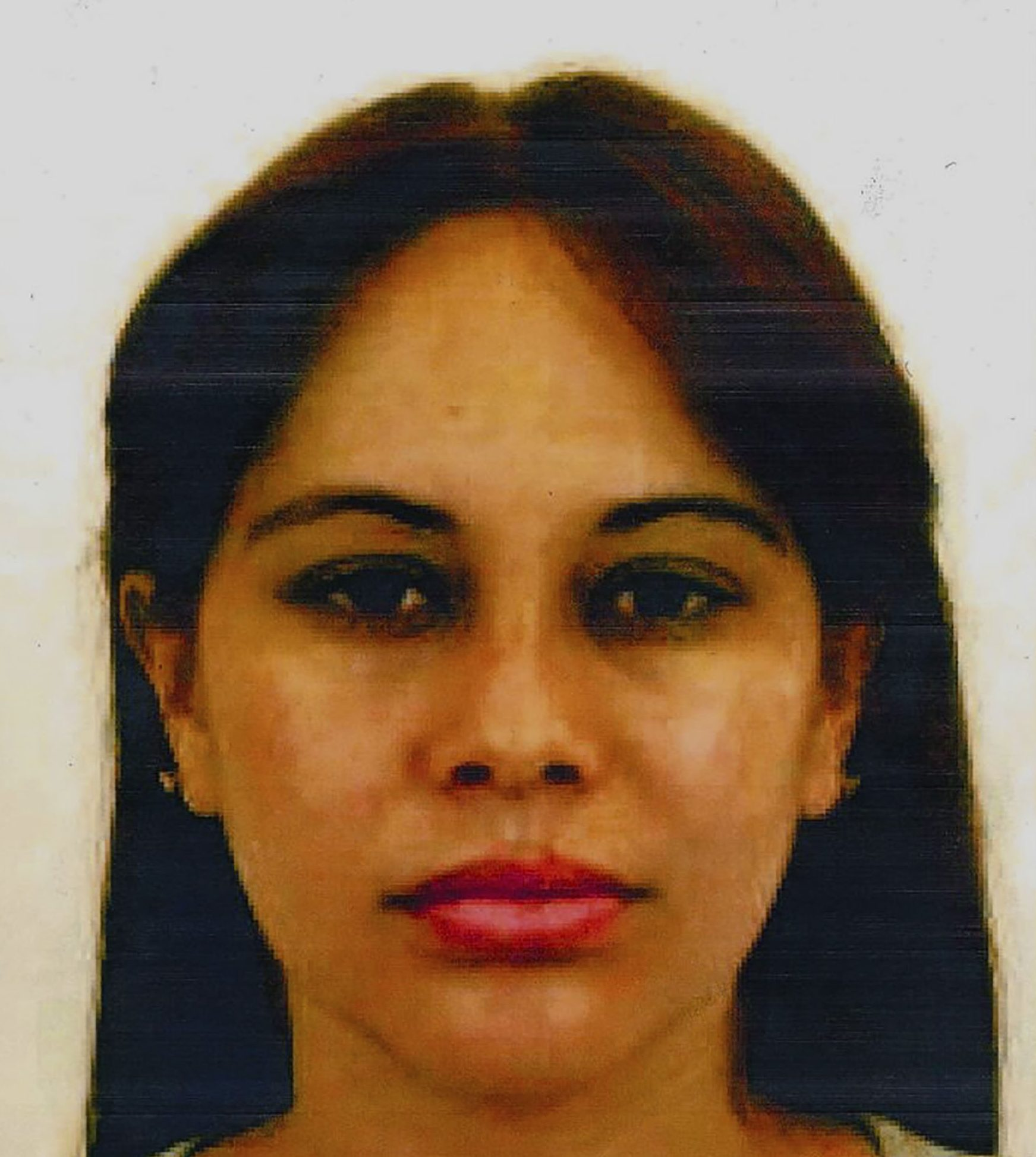 """This Eastern District of New York (EDNY)undated evidence handout photo,submitted as evidence, and obtained January 17, 2019 shows Lucero Guadalupe S??nchez L??pez, 29, a Mexican former lover of Joaquin Chapo Guzman, who took the stand on the trial of the Mexican druglord as a government witness on January 17, 2019. - A former mistress of Mexican crime boss Joaquin """"El Chapo"""" Guzman testified January 17, 2019 that the cartel leader lured her into a life as a drug trafficker, shifting hundreds of kilos of marijuana a time on planes. """"Until today I was confused because I thought it was a romantic relationship,"""" Lucero Guadalupe Sanchez Lopez, 29, told the New York City court where Guzman faces trafficking, firearms and money laundering charges.Sanchez, who was arrested in 2017 crossing from Mexico into San Diego and stands accused of conspiring to traffic cocaine, told the jury she met Guzman when she was 21. (Photo by HO / The Eastern District of New York / AFP) / RESTRICTED TO EDITORIAL USE - MANDATORY CREDIT """"AFP PHOTO / EDNY/HANDOUT"""" - NO MARKETING NO ADVERTISING CAMPAIGNS - DISTRIBUTED AS A SERVICE TO CLIENTSHO/AFP/Getty Images"""