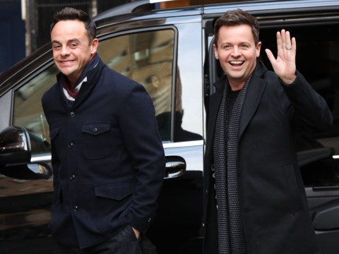 Ant McPartlin reunites with Declan Donnelly on Britain's Got Talent in first public appearance since drink-driving arrest