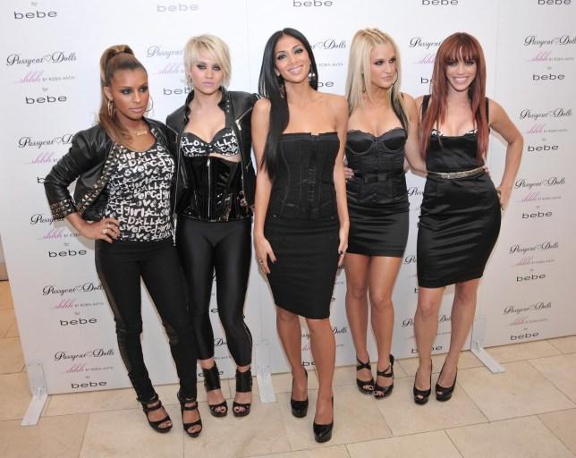 The Pussycat Dolls - Melody Thornton, Kimberly Wyatt, Nicole Scherzinger, Ashley Roberts and Jessica Sutta