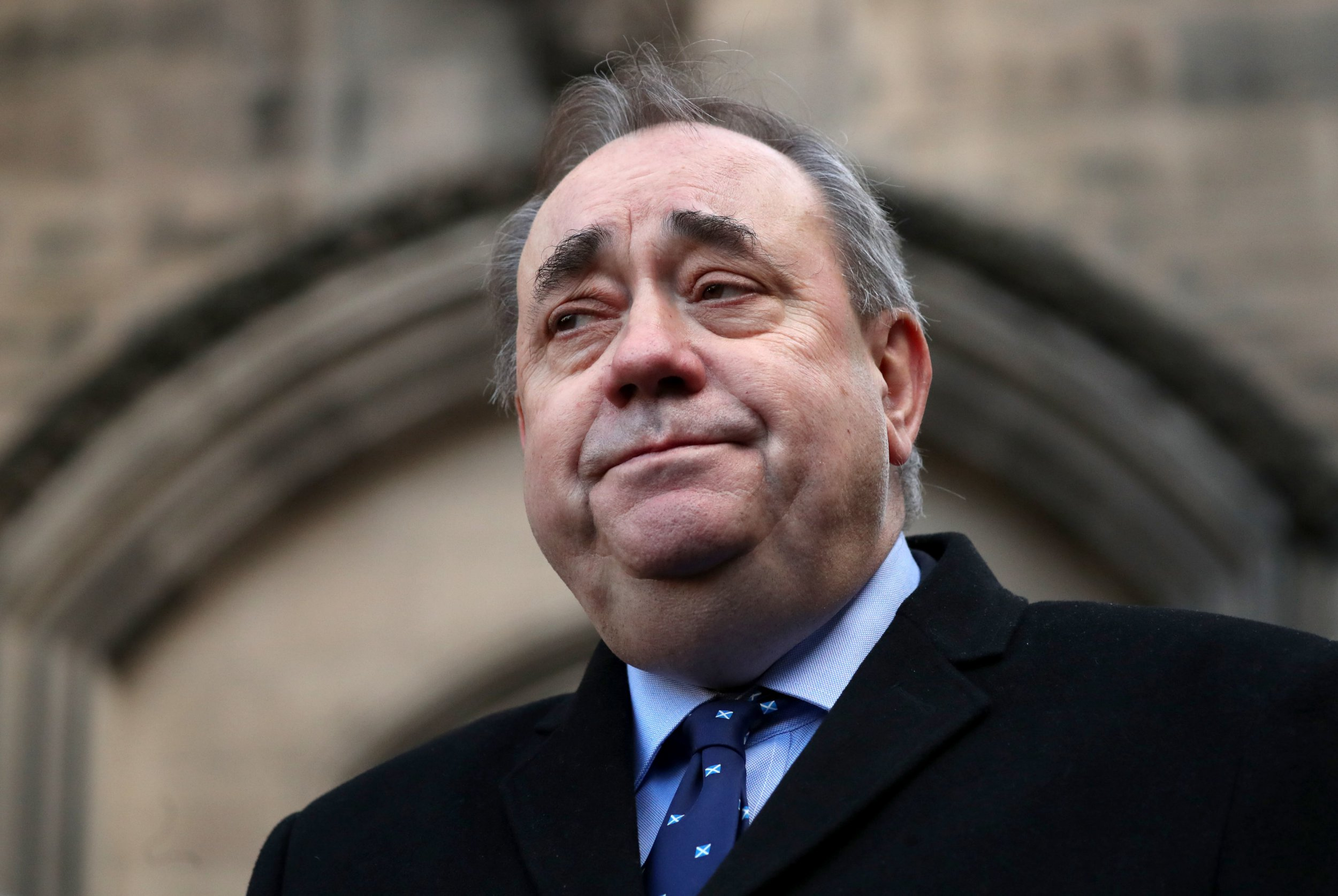 "File photo dated 08/01/2019 of Alex Salmond, who has pledged to end the ""uncivil war"" with Nicola Sturgeon's camp which developed amid the fallout from sexual misconduct allegations against him. PRESS ASSOCIATION Photo. Issue date: Sunday January 20, 2019. The former first minister said he wants to see an end to ill-tempered exchanges between his camp and supporters of Ms Sturgeon. See PA story POLITICS Salmond. Photo credit should read: Jane Barlow/PA Wire"