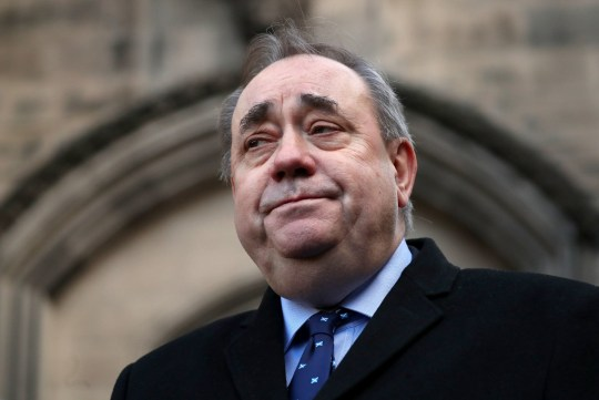 """File photo dated 08/01/2019 of Alex Salmond, who has pledged to end the """"uncivil war"""" with Nicola Sturgeon's camp which developed amid the fallout from sexual misconduct allegations against him. PRESS ASSOCIATION Photo. Issue date: Sunday January 20, 2019. The former first minister said he wants to see an end to ill-tempered exchanges between his camp and supporters of Ms Sturgeon. See PA story POLITICS Salmond. Photo credit should read: Jane Barlow/PA Wire"""