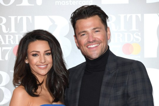 LONDON, ENGLAND - FEBRUARY 22: EDITORIAL USE ONLY. Michelle Keegan, Mark Wright attend The BRIT Awards 2017 at The O2 Arena on February 22, 2017 in London, England. (Photo by Karwai Tang/WireImage)