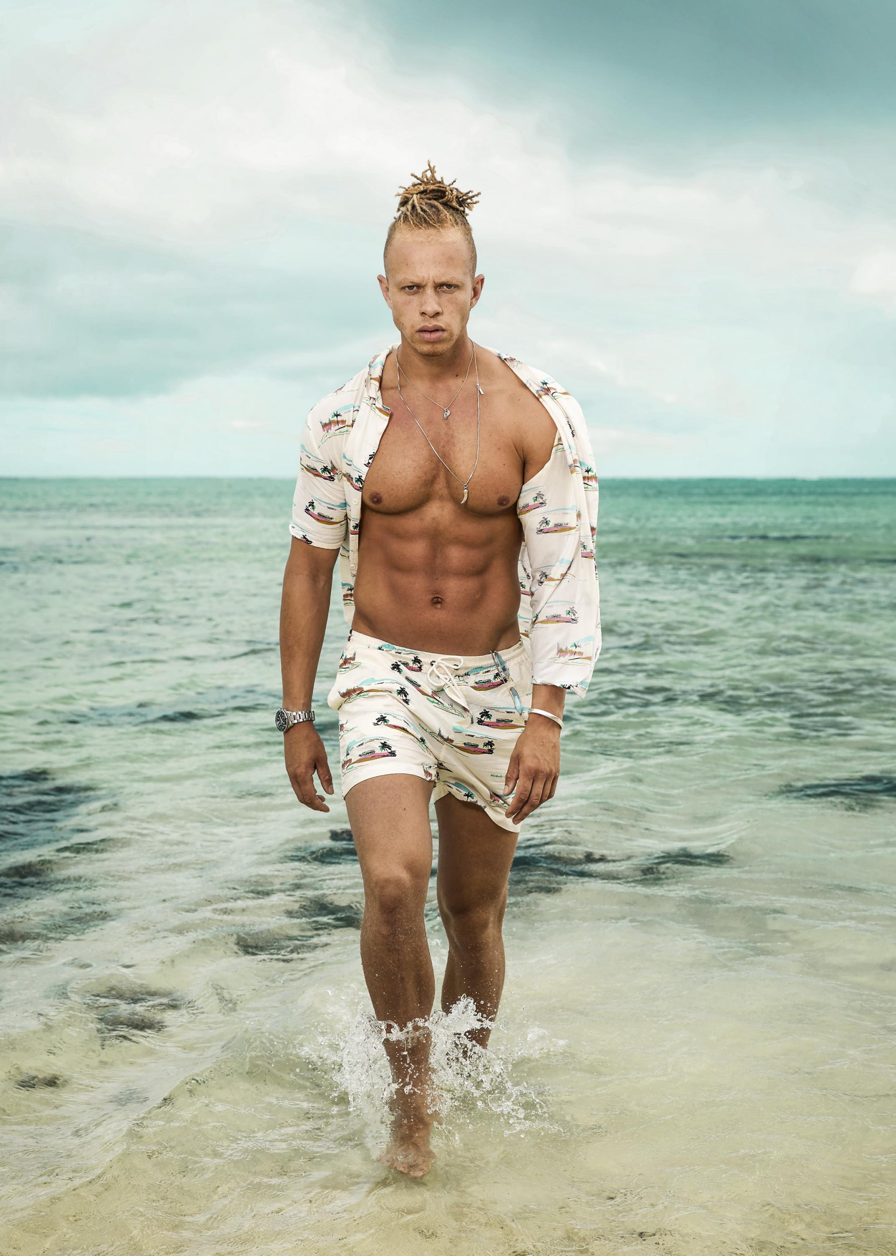 Meet Chris, the Shipwrecked castaway who wants to be the island's mediator