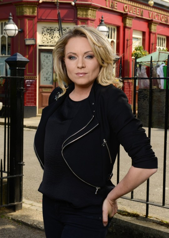 Programme Name: EastEnders - TX: n/a - Episode: EastEnders - Roxy Mitchell (No. n/a) - Picture Shows: Roxy Mitchell (RITA SIMONS) - (C) BBC - Photographer: Kieron McCarron