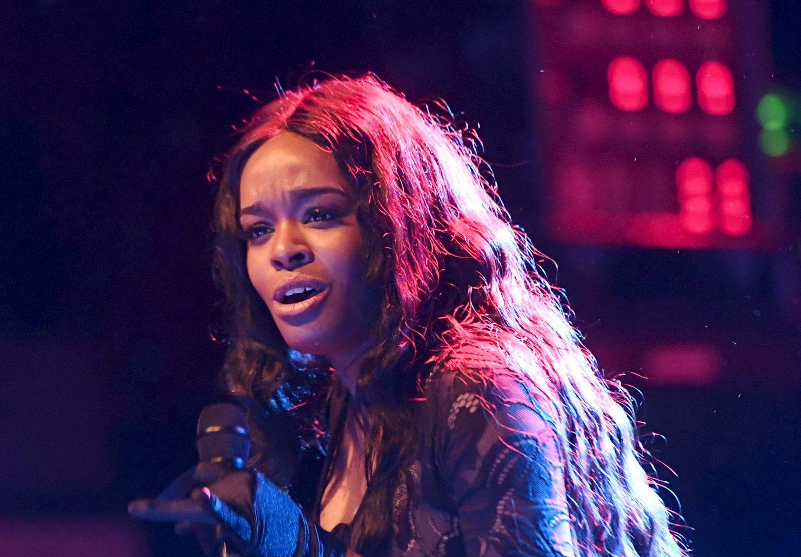 Mandatory Credit: Photo by Markku Ulander/REX/Shutterstock (9072529d) Azealia Banks Azelia Banks in concert at the Circus Helsinki, Finland - 24 Sep 2017