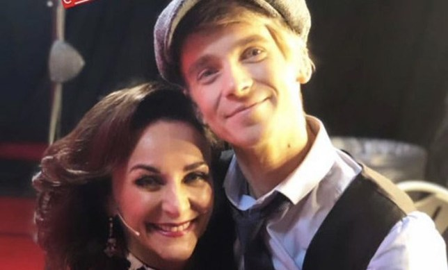 Joe Sugg and Shirley Ballas Unknown source/taken from: https://twitter.com/imagineearii/status/1087047705904455681