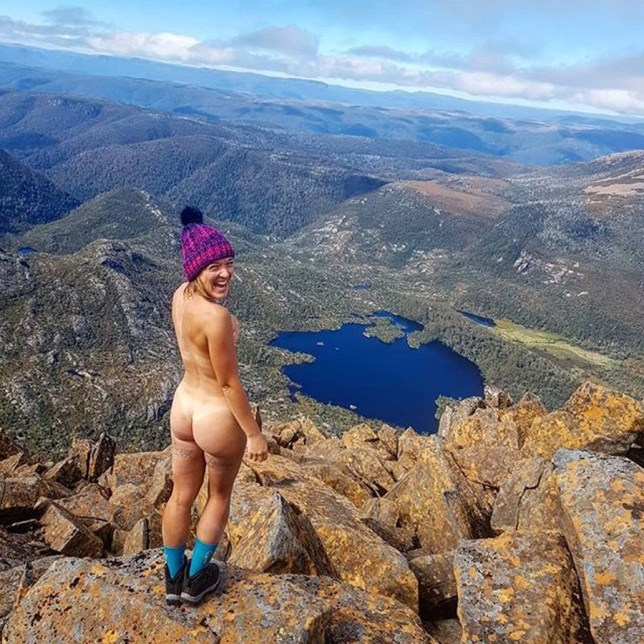 Rachael goes for hikes of up to 20km in the buff (Collect/PA Real Life)
