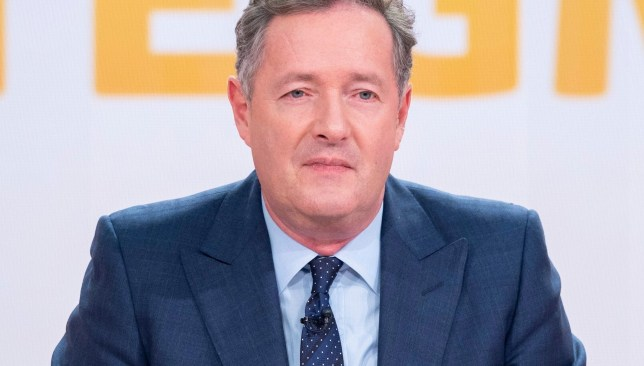 Editorial use only Mandatory Credit: Photo by Ken McKay/ITV/REX (10070309db) Piers Morgan 'Good Morning Britain' TV show, London, UK - 22 Jan 2019