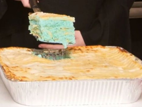 End times are nigh as gender reveal lasagnes become a thing