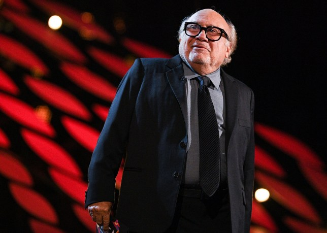 Mandatory Credit: Photo by Scott Garfitt/REX (10069677fu) Danny DeVito 23rd National Television Awards, Show, O2, London, UK - 22 Jan 2019